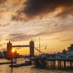 Londown Tower Bridge Sunset